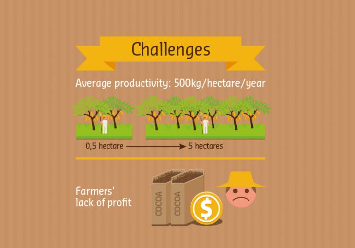 Sustaining livelihoods = A sustainable cocoa supply chain
